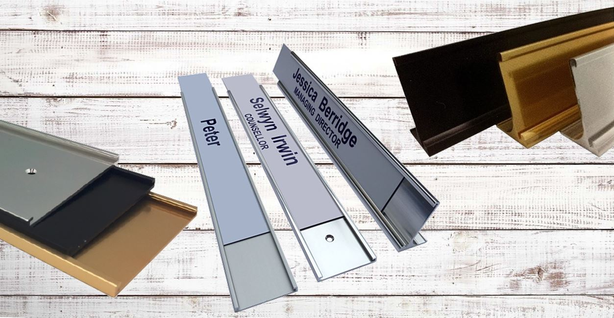 Office Signage Wall Door Name Plate Holders